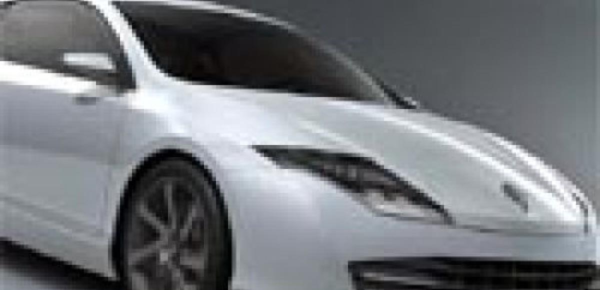 Renault Laguna Coupe Concept. Видеопрезентация