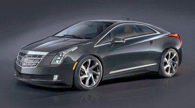 Cadillac ELR. Со щитом
