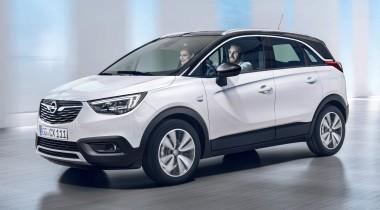 Opel Crossland X: вместо «Меривы»