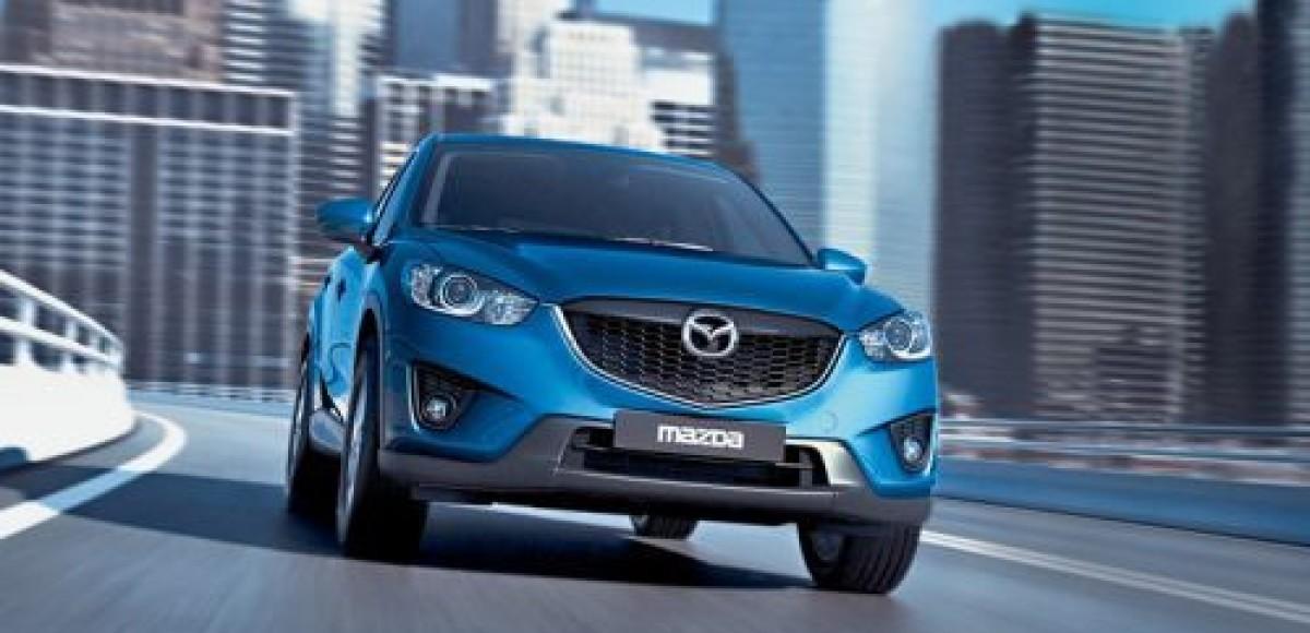 Mazda озвучила российские цены на кроссовер CX-5