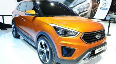 Кроссовер Hyundai ix25 представлен в Китае