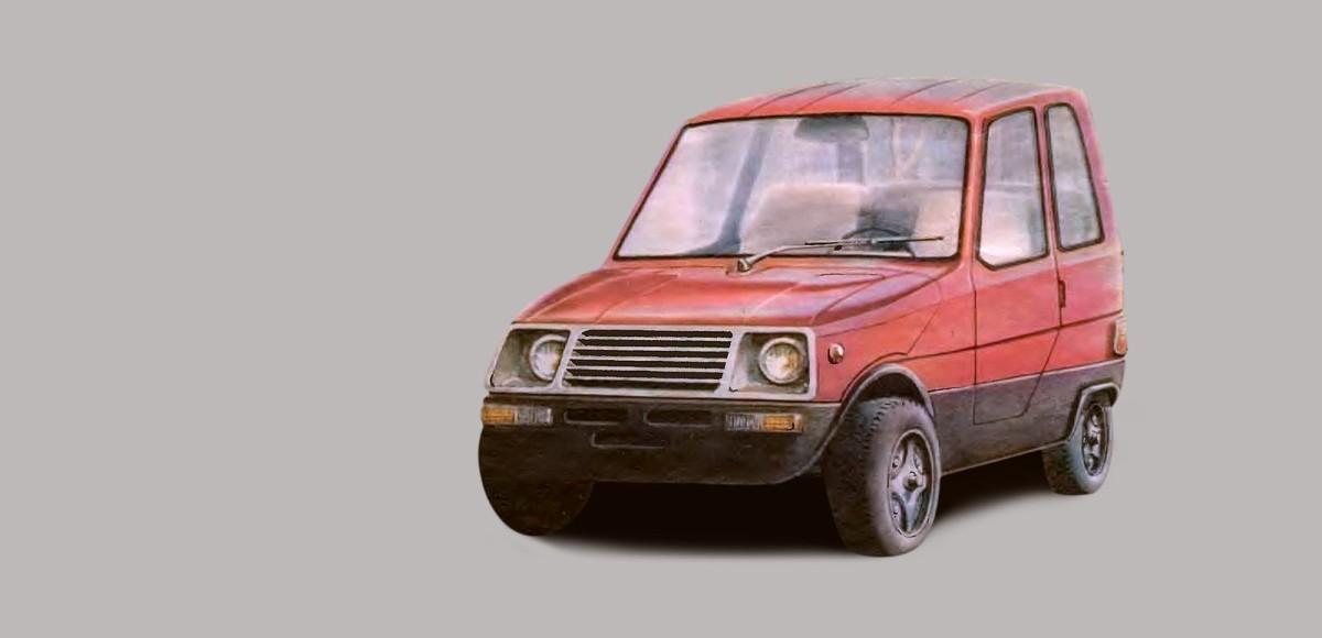 Микроавтомобиль «Яуза-035»: супер дешёвая самоделка из 90-х