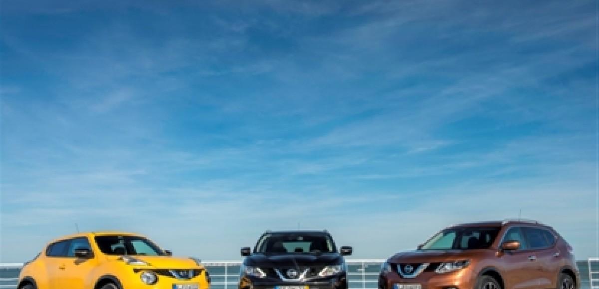 Nissan в ноябре снова в плюсе