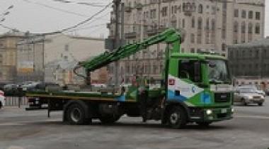 За московскими эвакуаторщиками будет следить ГЛОНАСС