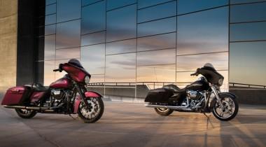 Новые туринги Harley-Davidson