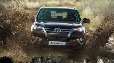 Toyota Fortuner выходит на российский рынок