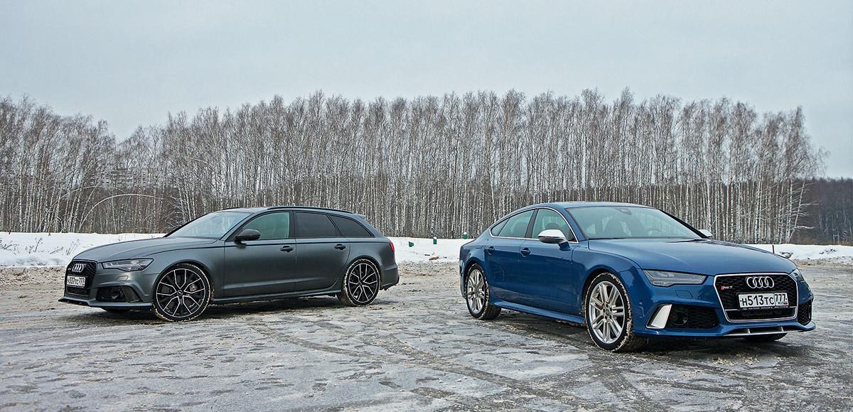 Audi RS6 против RS7. Выбор «горячего»