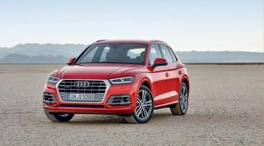 Audi Q5. В масштабе