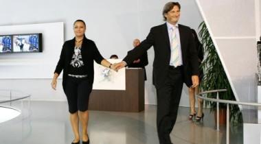 Peugeot представил на ММАС-2008 коллекцию Юлии Далакян «Лазурный грот»