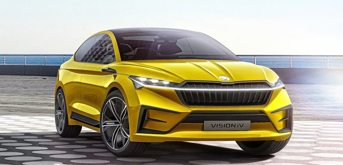 Skoda Vision iV Concept: на пути в гаджеты
