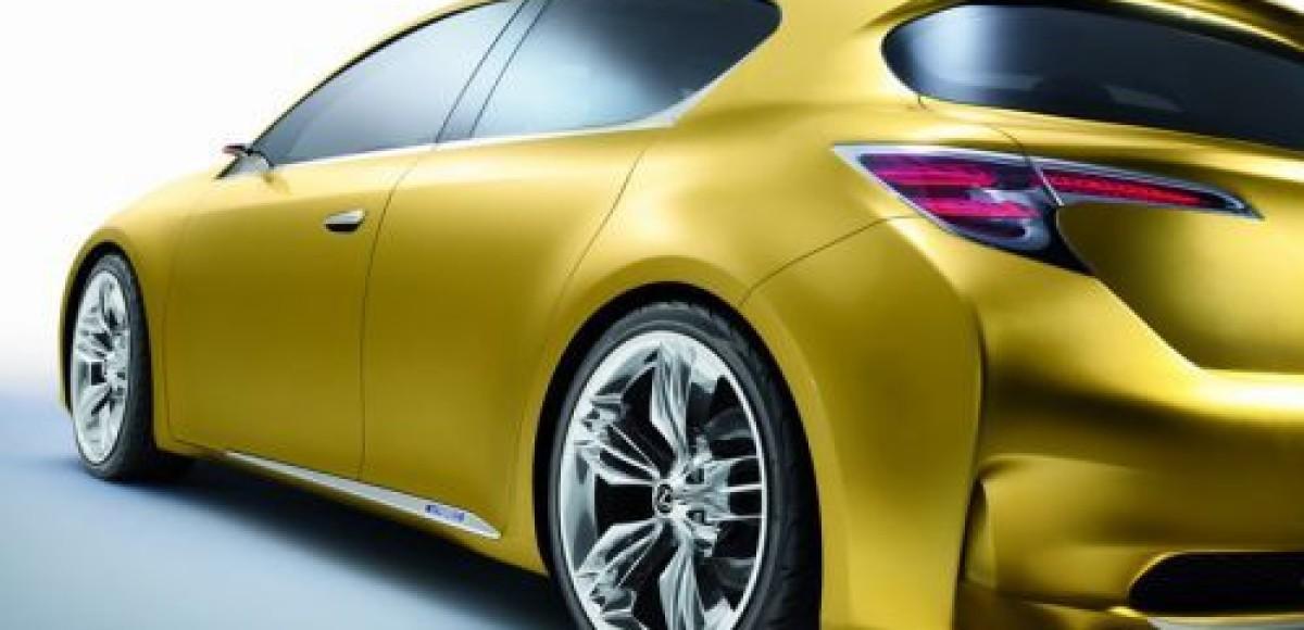 Lexus покажет во Франкфурте концептуальный LF-Ch