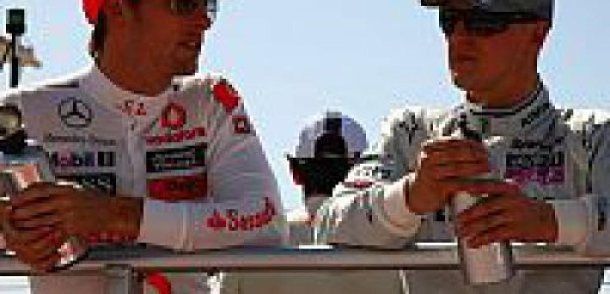 Баттон находит возвращение Шумахера «довольно классным»