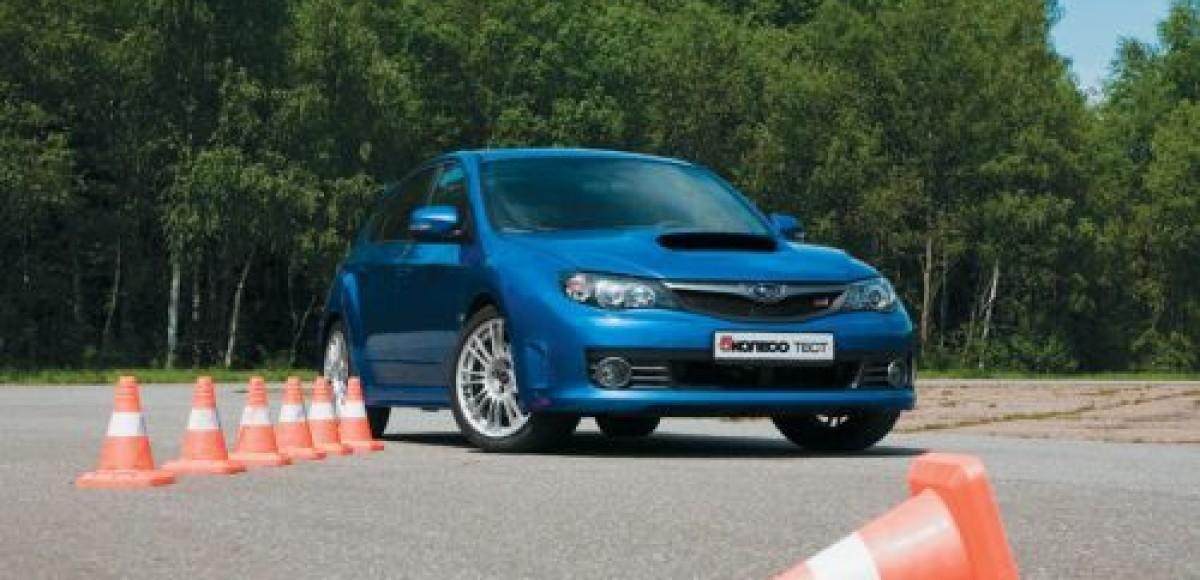 Subaru Impreza WRX STI. Зла не хватает