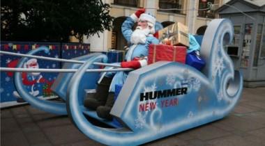 За передвижениями саней Деда Мороза будет следить система ГЛОНАСС
