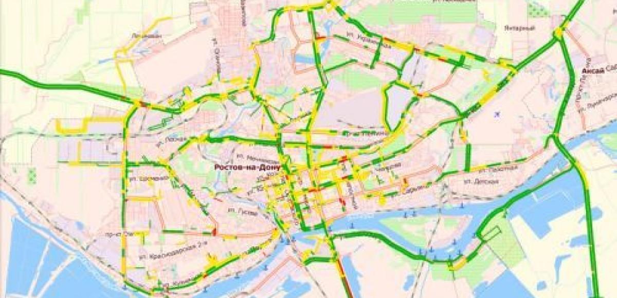 С февраля 2011 года «Рамблер-Карты» оценивают «пробки» в 87 городах России
