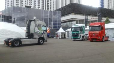 Новейшие тягачи на выставке АСМАП-2019