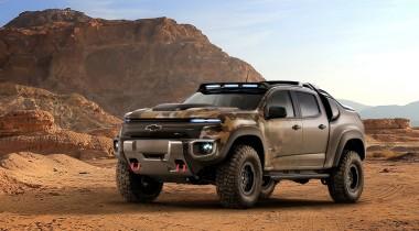 Chevrolet разработал совместно с военными водородный пикап Colorado