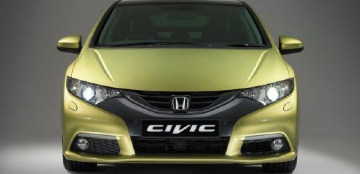 Во Франкфурте Honda покажет новое поколение хэтчбека Civic
