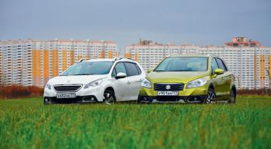 Peugeot 2008 и Suzuki SX4. Горожане