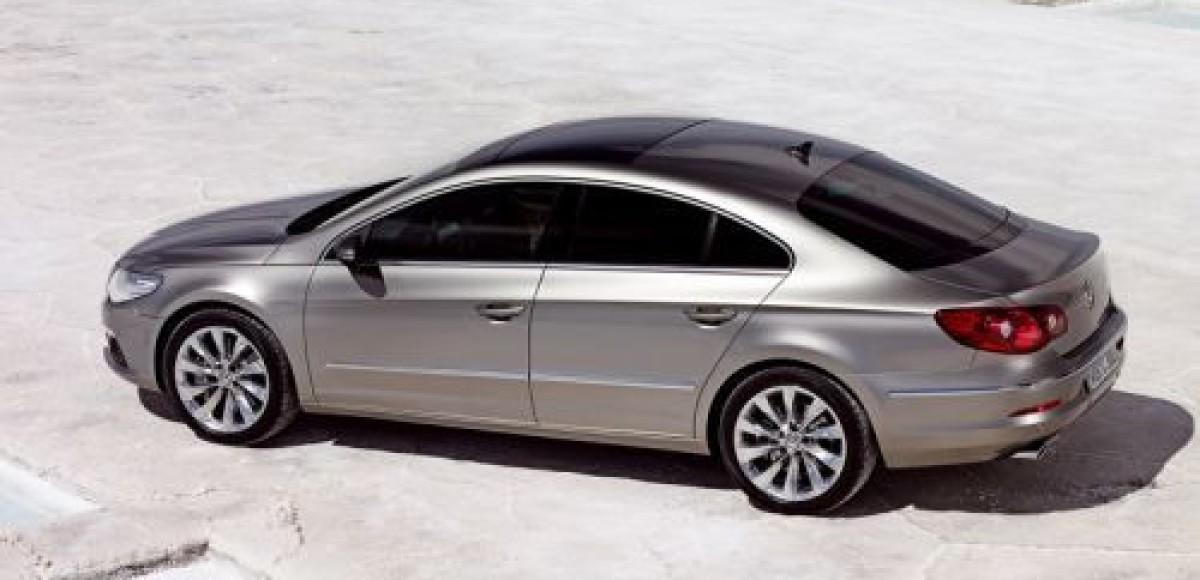 Объявлены российские цены на Volkswagen Passat CC
