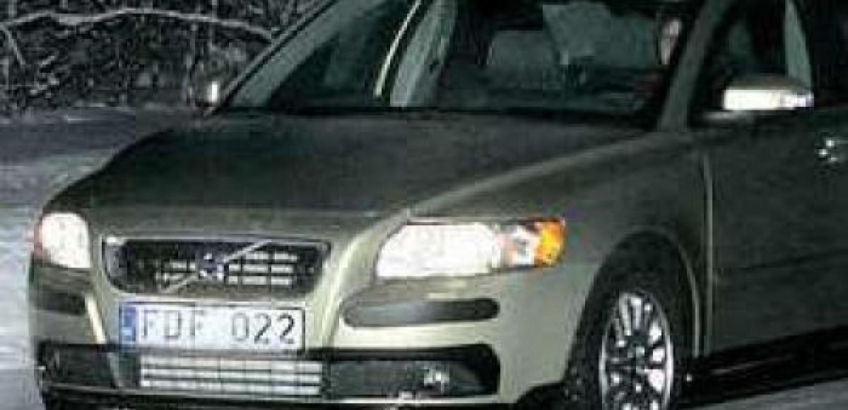 Шпионские фото Volvo S40