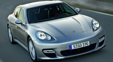 Впервые Porsche Panamera покажут в Китае
