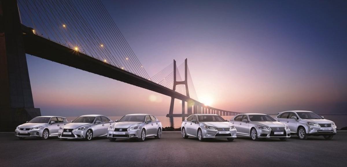Миллионы гибридов от Toyota и Lexus