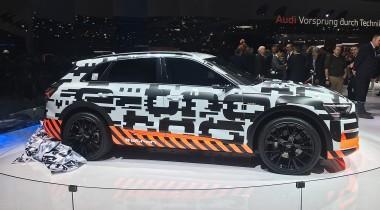 Audi e-tron: рекордная перезарядка