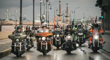 Петербург встретит мотофестиваль Harley-Davidson