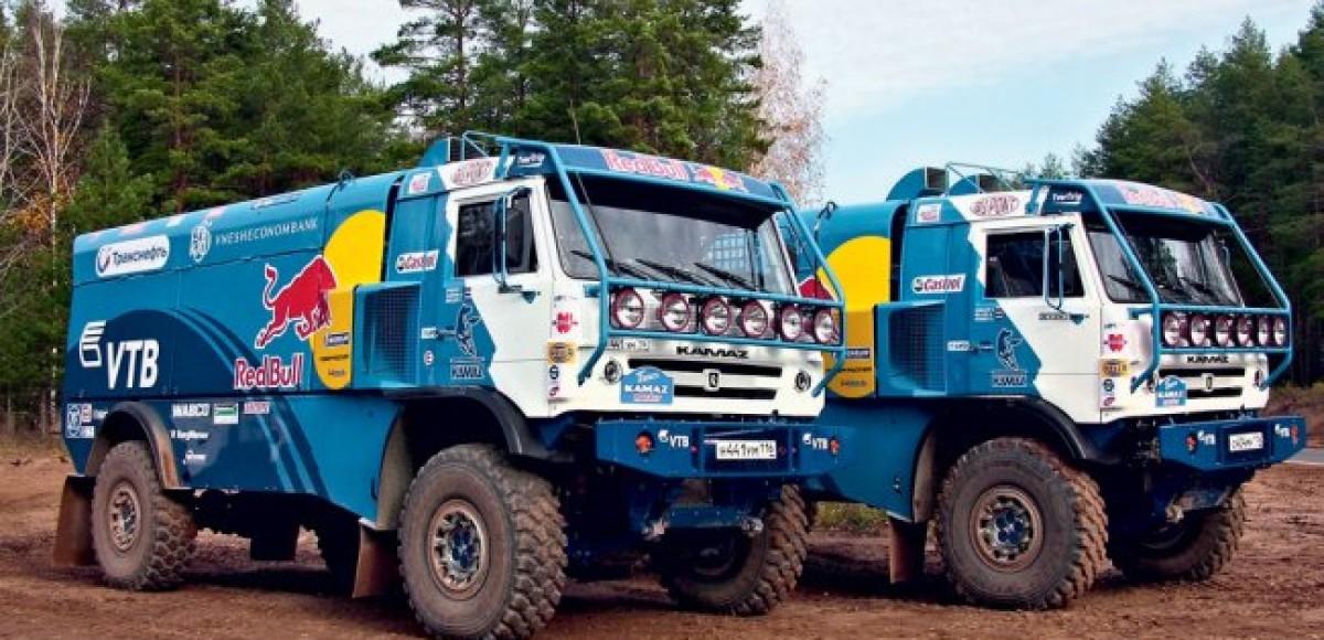 «Дакар-2012». «КамАЗ-Мастер» перед стартом