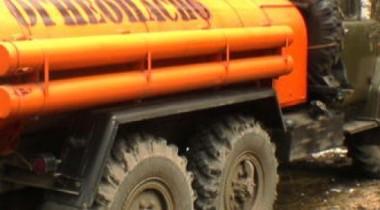 15 тонн дизельного топлива разлилось на трассе Астана — Павлодар