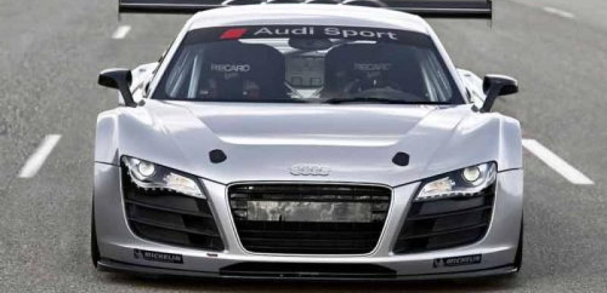 Audi начала поставки клиентам Audi R8 LMS