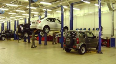 «Автомир» дает бонусы на сервис Suzuki