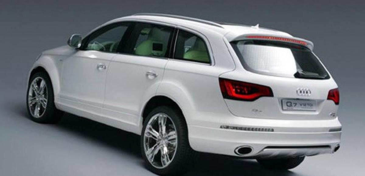 Audi Q7: большой и роскошный