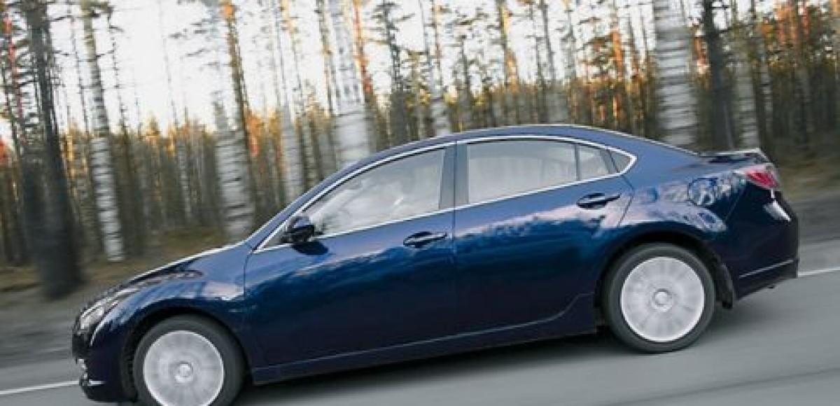 «Серебряная» серия Mazda6 в салонах дилеров