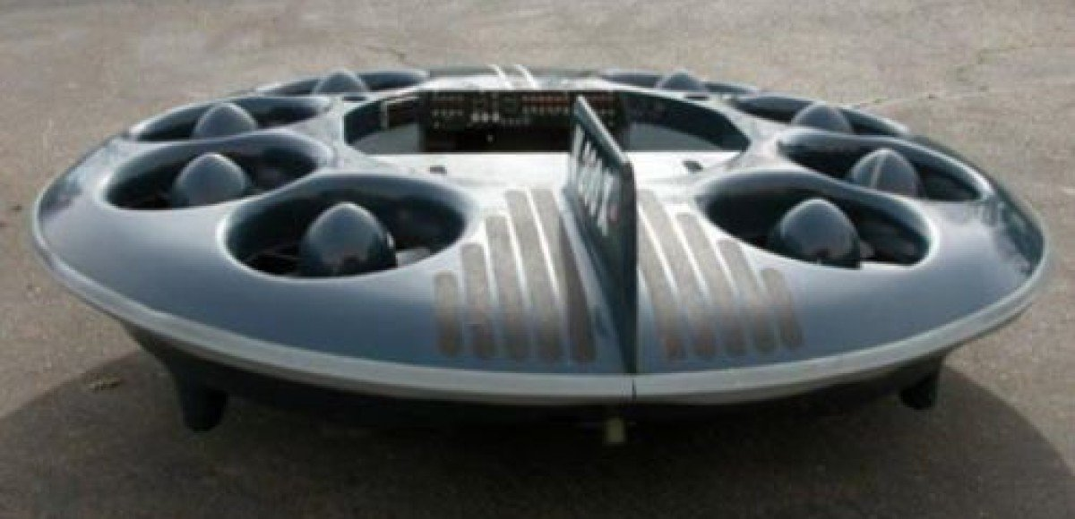 Летающая тарелка Moller M200X уйдет с молотка