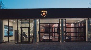 В питерском «Автодоме» завели Lamborghini