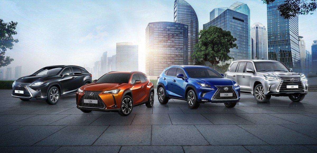 Lexus: все скидки и спецпредложения июля