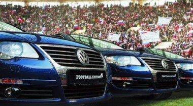 Volkswagen представляет ограниченную серию Passat для футбольных болельщиков