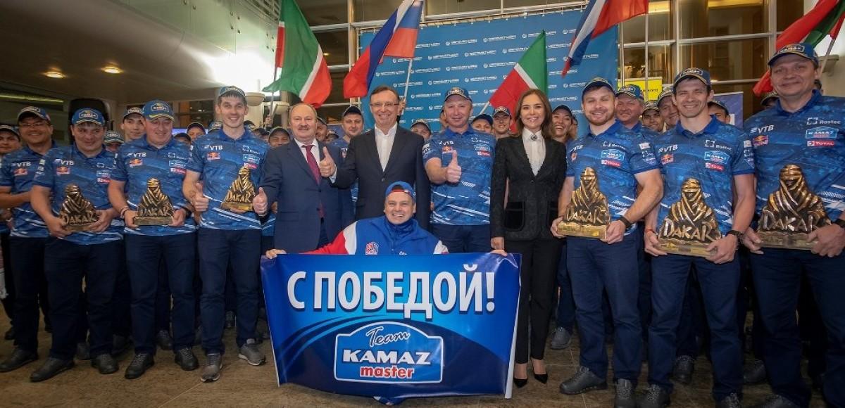 «КАМАЗ-мастер» снова привез золото «Дакара» в Россию