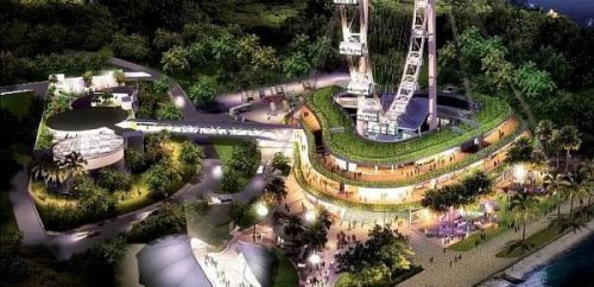 В Сингапуре будут не только светящиеся шины, но и «светящиеся флаги»