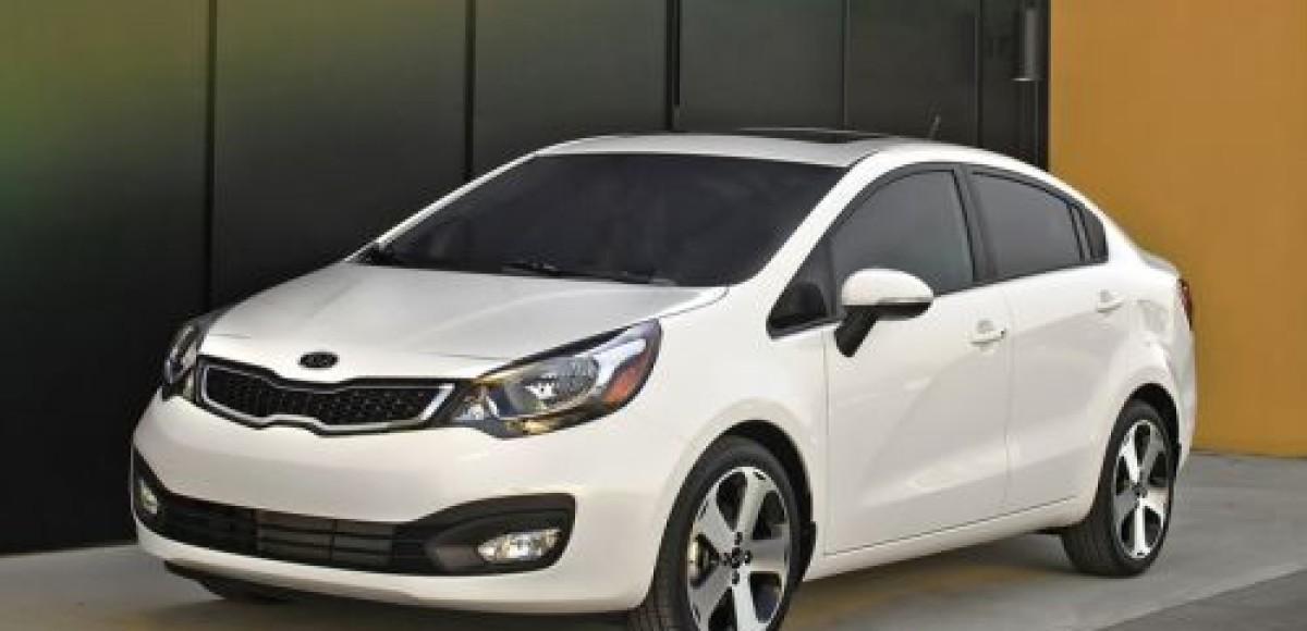 KIA показала в Нью-Йорке новый Rio Sedan