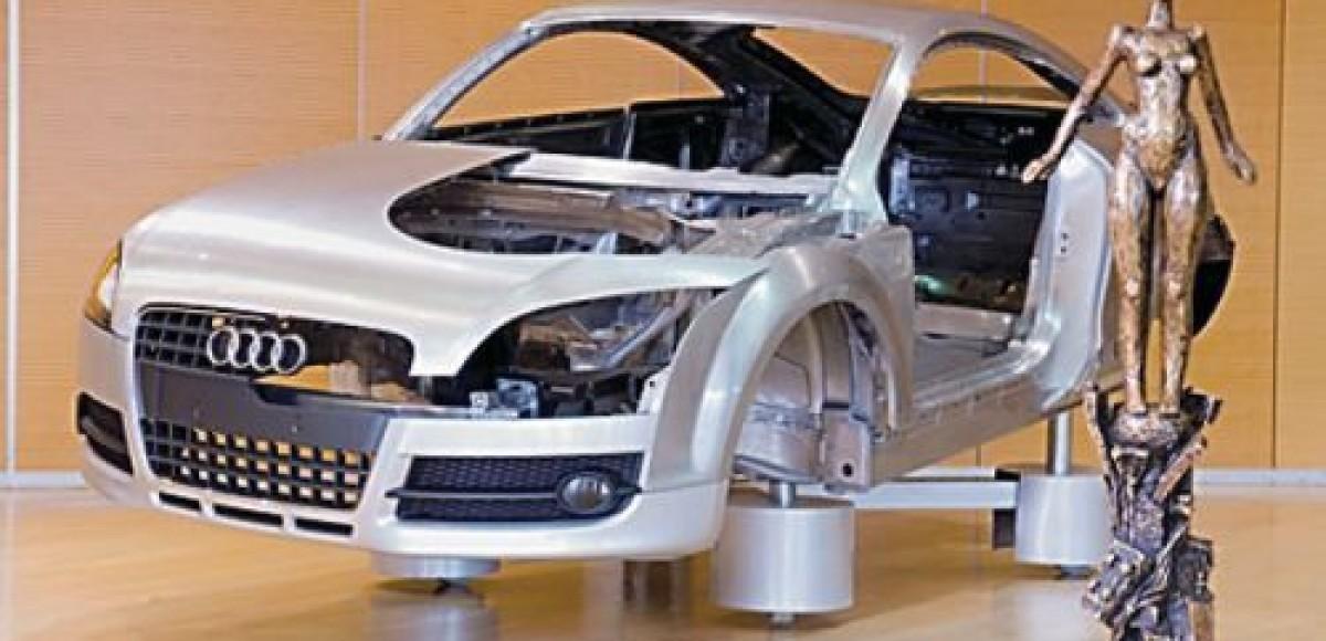 Технологии Audi. День в будущем