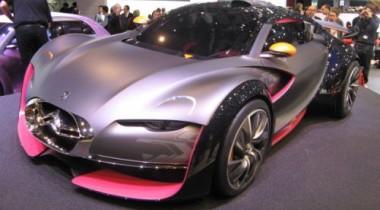 Citroen вывел гоночный электромобиль Survolt на трассу в Ле-Мане