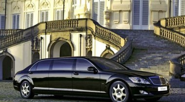 В Mercedes разработали седан S 600 Pullman Guard для VIP