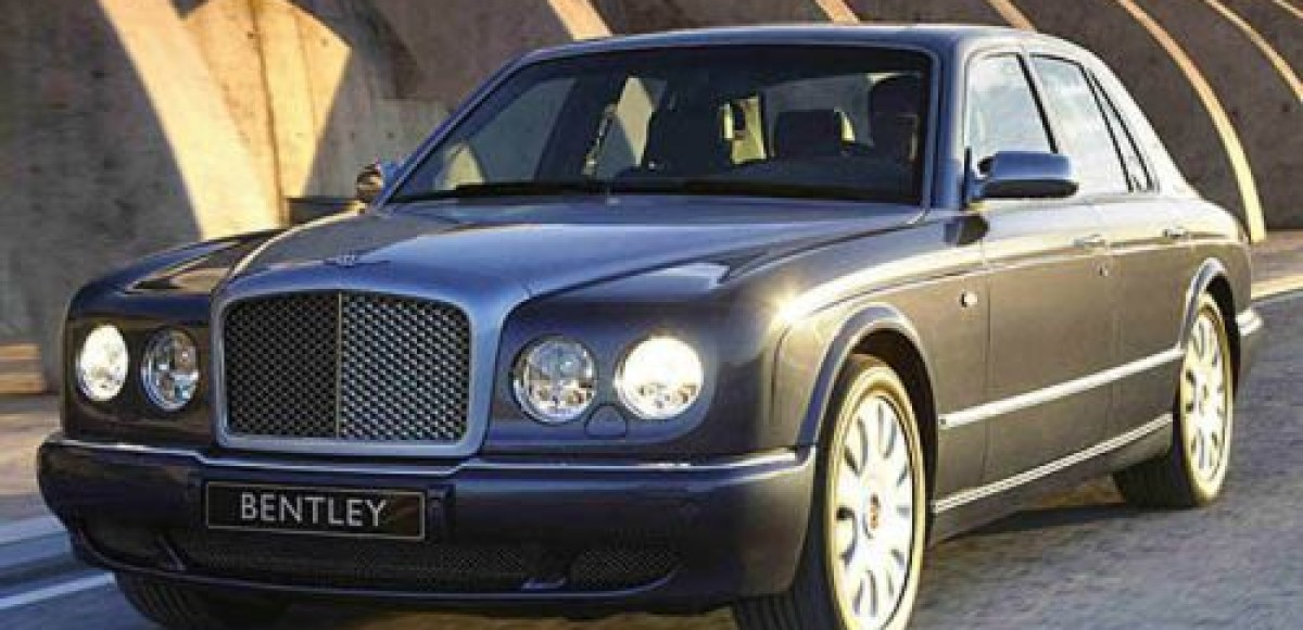 Bentley Arnage Т. Ураган из Англии