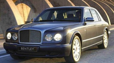 Bentley Arnage Т. Ураган из Англии