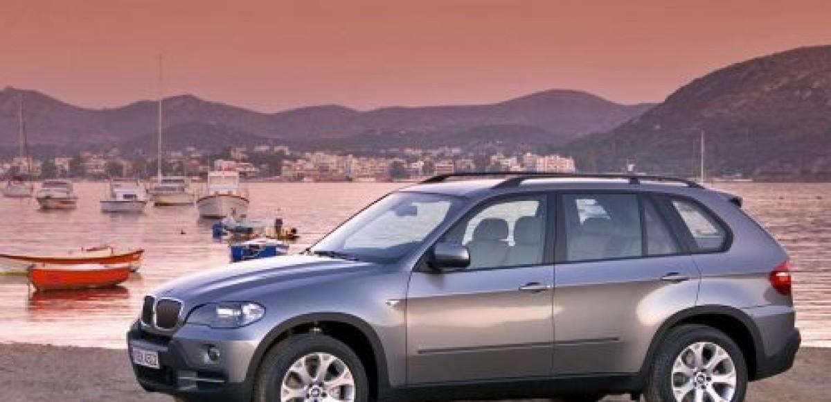 В Женеве покажут гибридный BMW X5