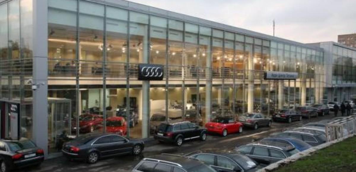 Ауди Центр Таганка. Audi в кредит от 2,9% годовых