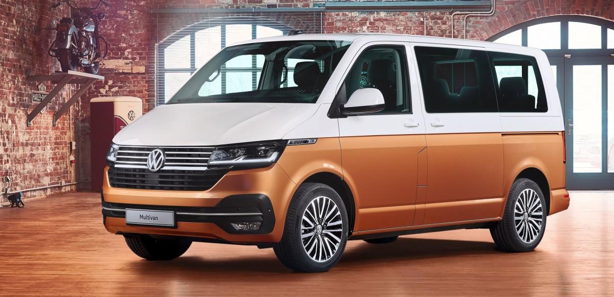 Представлен обновлённый Volkswagen Multivan